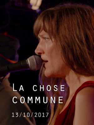 Image de couverture LA CHOSE COMMUNE
