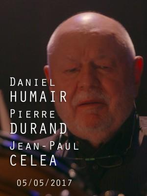 Image de couverture DANIEL HUMAIR / JEAN-PAUL CELEA / PIERRE DURAND