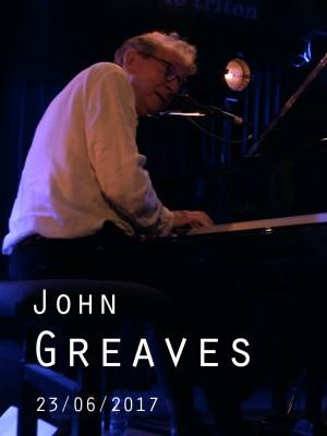 Image de couverture JOHN GREAVES