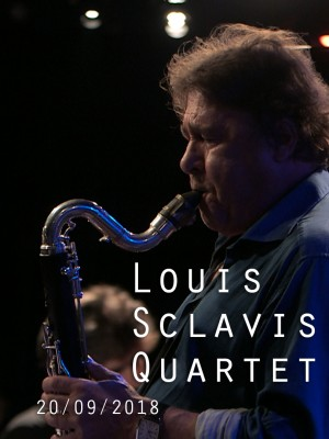 Image de couverture LOUIS SCLAVIS QUARTET - CHARACTERS ON A WALL