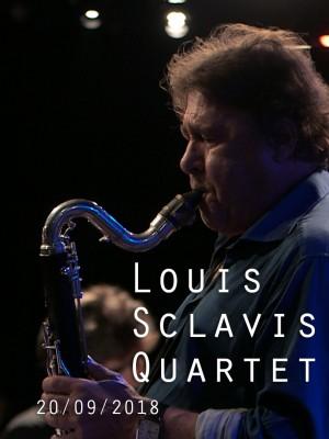 Image de couverture LOUIS SCLAVIS QUARTET - CHARACTERS ON A WALL