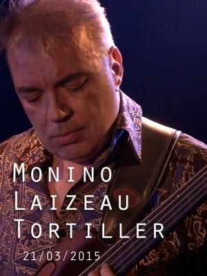Image de couverture MONINO LAIZEAU TORTILLER - AROUND JACO TRIO