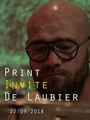 PRINT INVITE SERGE DE LAUBIER