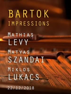 Image de couverture MATHIAS LEVY / MATYAS SZANDAI / MIKLOS LUKACS - BARTOK IMPRESSIONS