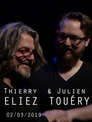 Image de couverture PIANOS CROISÉS - THIERRY ELIEZ & JULIEN TOUÉRY
