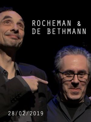 PIANO CROISES - PIERRE DE BETHMANN & MANUEL ROCHEMAN