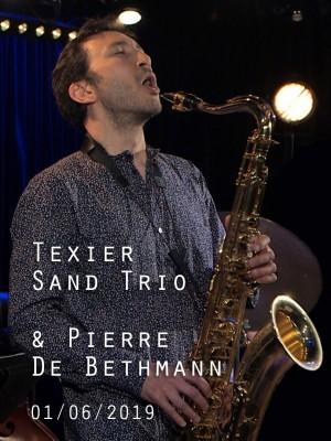 Image de couverture HENRI TEXIER SAND TRIO & PIERRE DE BETHMANN