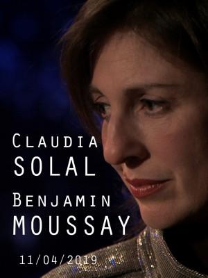Image de couverture CLAUDIA SOLAL & BENJAMIN MOUSSAY