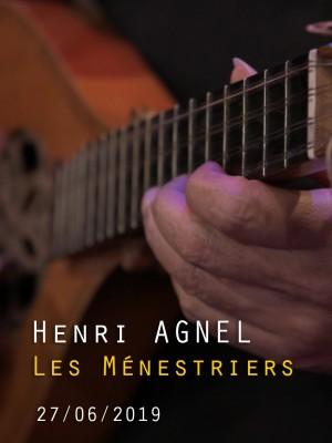 HENRI AGNEL - LES MENESTRIERS