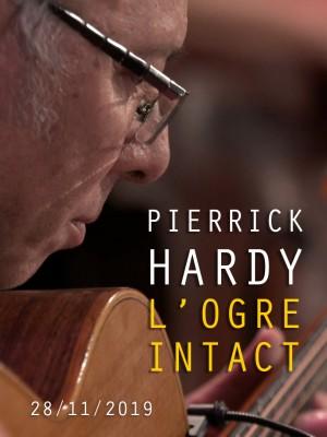 Image de couverture PIERRICK HARDY - L'OGRE INTACT