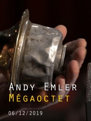 Image de couverture ANDY EMLER - MEGAOCTET