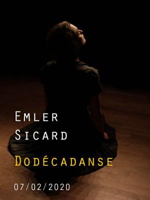 DODÉCADANSE - ANDY EMLER / ÉLODIE SICARD