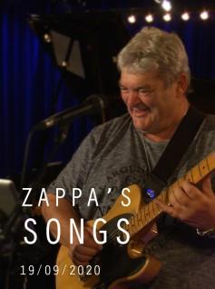 ZAPPA'S SONGS - JIMI DROUILLARD - 2020