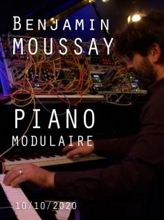 Image de couverture BENJAMIN MOUSSAY - PIANO MODULAIRE