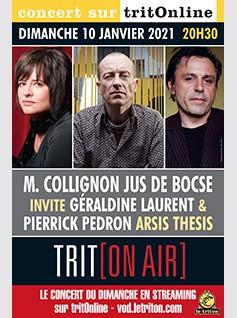 """JUS DE BOCSE INVITE P. PÉDRON & G. LAURENT - """"ARSIS THESIS"""""""