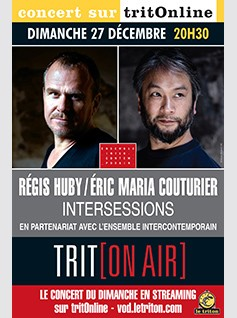 INTERSESSIONS - REGIS HUBY / ERIC MARIA COUTURIER
