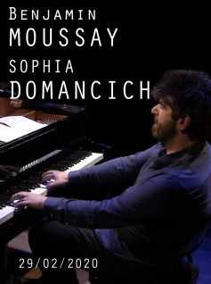 Image de couverture BENJAMIN MOUSSAY / SOPHIA DOMANCICH