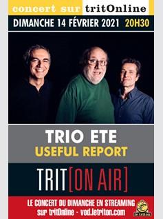 Image de couverture TRIO ETE - USEFUL REPORT