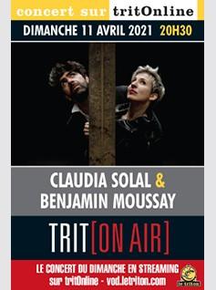 CLAUDIA SOLAL & BENJAMIN MOUSSAY - PUNK MOON