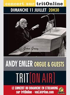 Image de couverture ANDY EMLER ORGUE & GUESTS