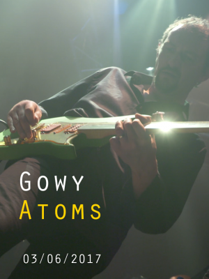 "Image de couverture GOWY - ""ATOMS"""