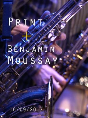 Image de couverture PRINT + BENJAMIN MOUSSAY