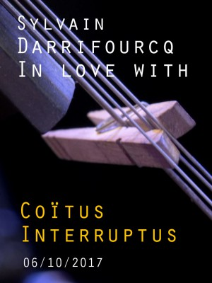 "Image de couverture SYLVAIN DARRIFOURCQ - IN LOVE WITH - ""COITUS INTERRUPTUS"""